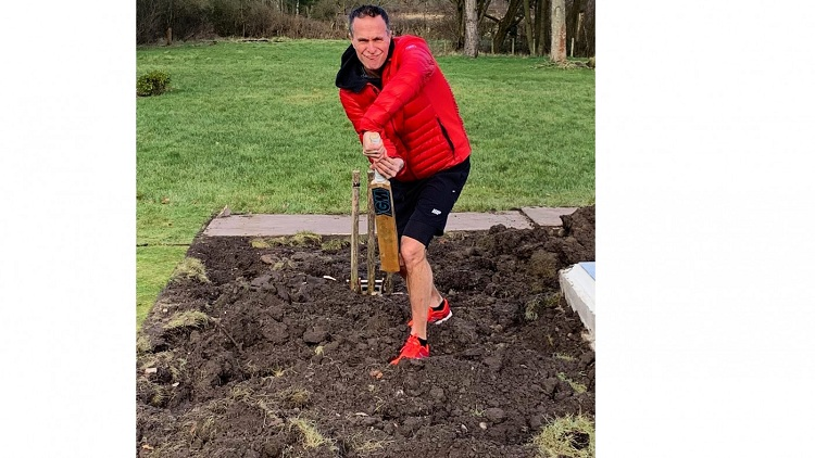 Vaughan takes a dig at the pitch ahead of fourth Test
