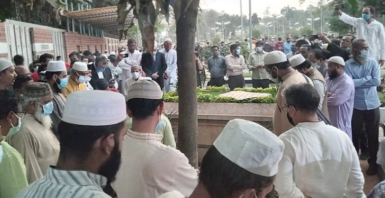 HT Imam laid to rest