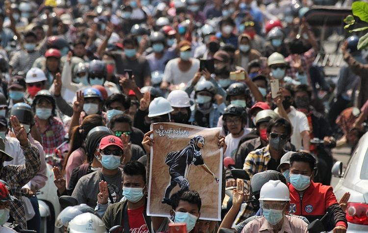 Myanmar diplomatic revolt against junta widens after violent crackdown