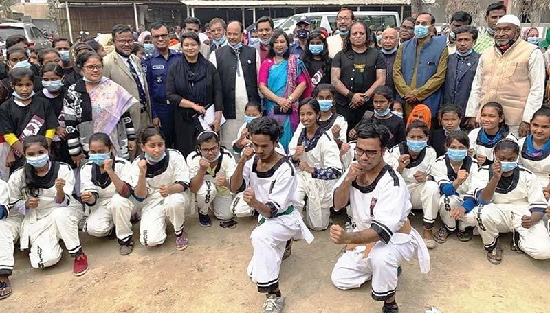 10-day long Butthan Martial Art training for rural teen girls end