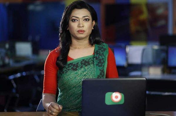 Tashnuva becomes country's first transgender TV newscaster