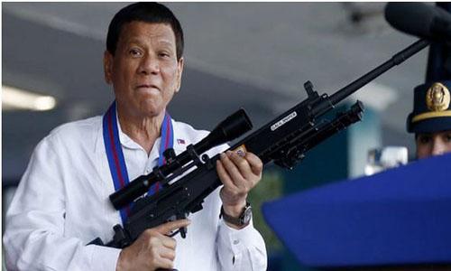 Photo: Philippine President Rodrigo Duterte