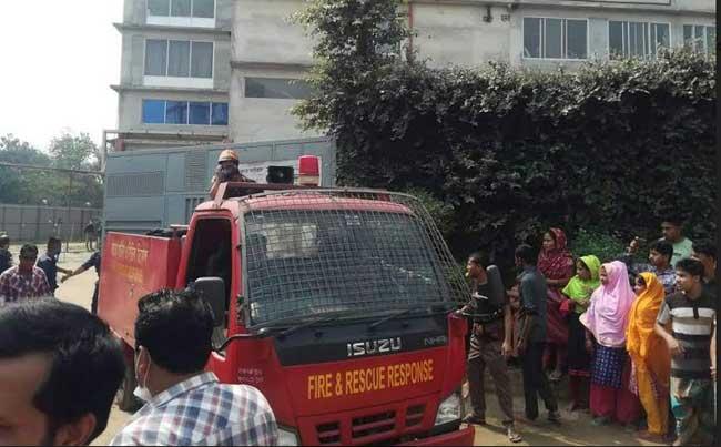 Gazipur factory worker killed in fire