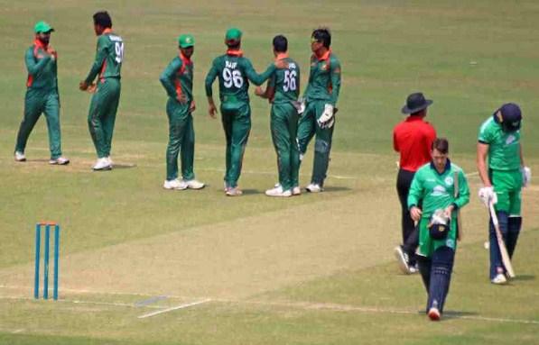 Mahmudul, Shamim guide Bangladesh to win over Ireland Wolves