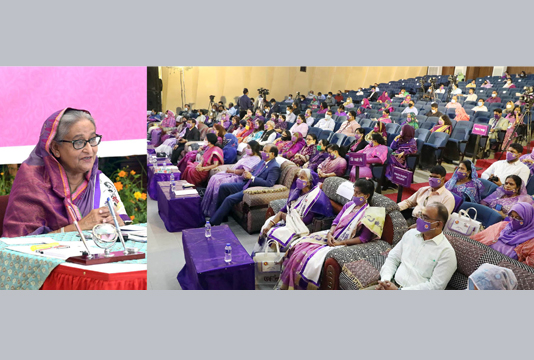 PM to womenfolk 'Engage yourselves in income generating activities'
