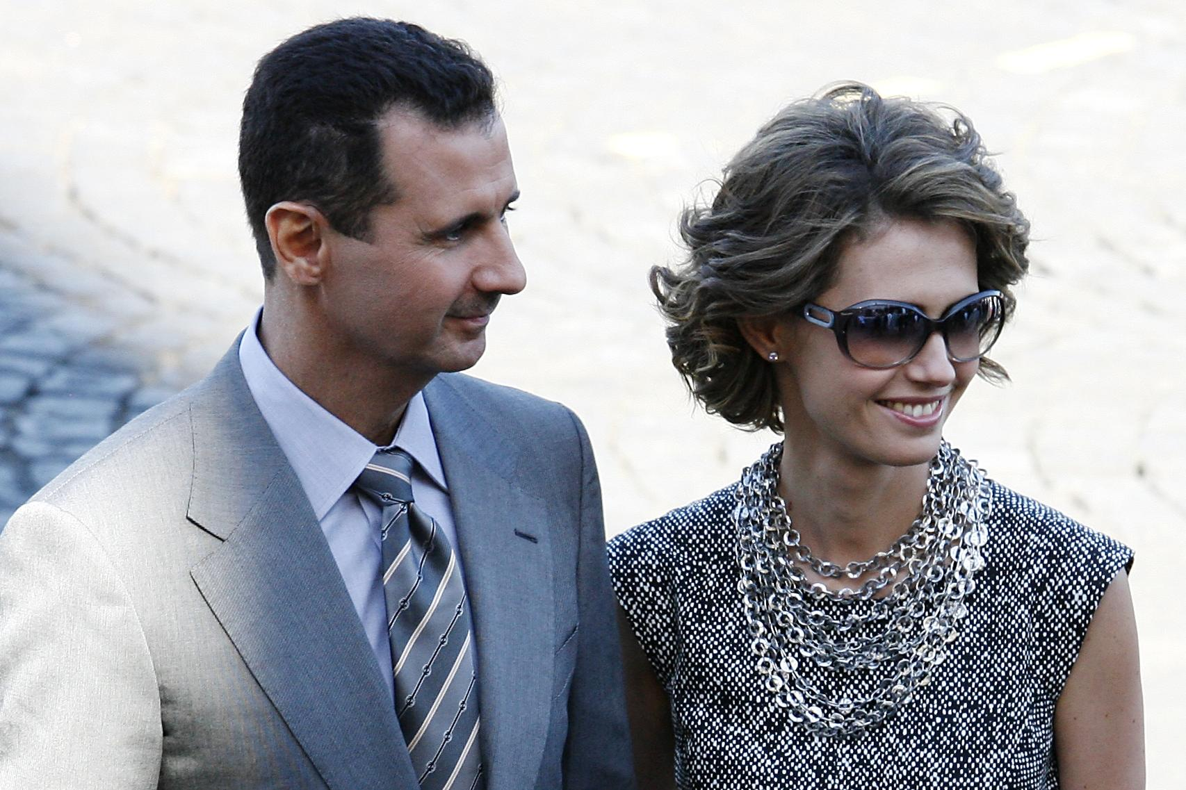 Syria's President Assad, his wife test positive for COVID-19
