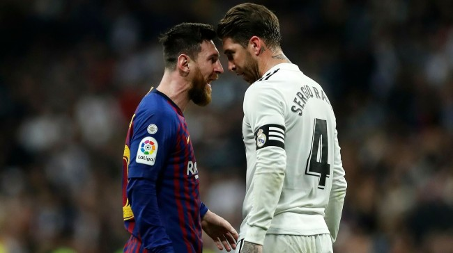 Messi can stay with me if he signs for Real: Ramos