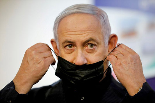 Netanyahu eyes vaccine victory as Israel heads for fourth vote