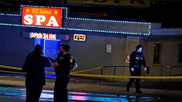 Georgia massage parlor shootings leave 8 dead; man captured