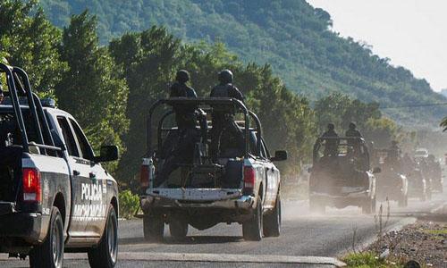 13 cops killed in Mexico ambush