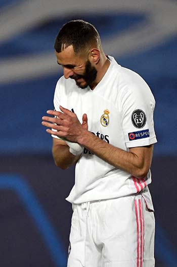 Benzema delivering for Real but still stuck in Ronaldo's shadow