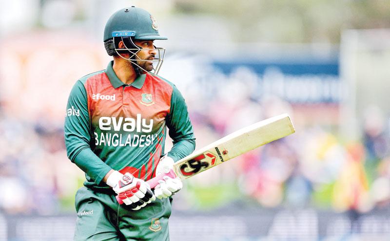 Bangladesh's ODI captain Tamim Iqbal. photo: AFP