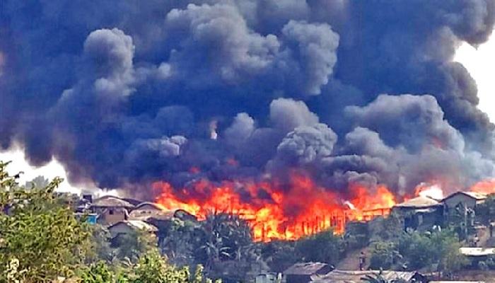 IOM pledges m for Rohingya camp fire victims