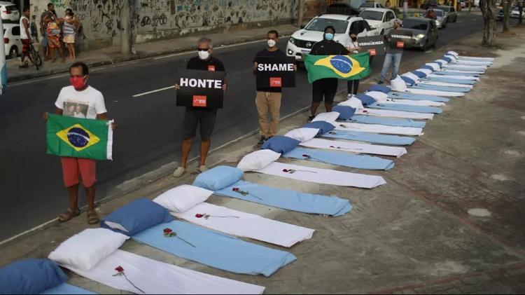 Brazil's COVID-19 death toll surpasses 300,000