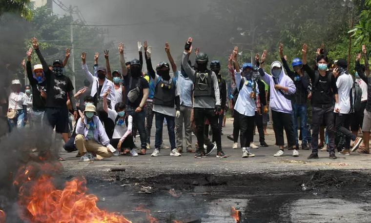 Myanmar security forces kill 114 protesters