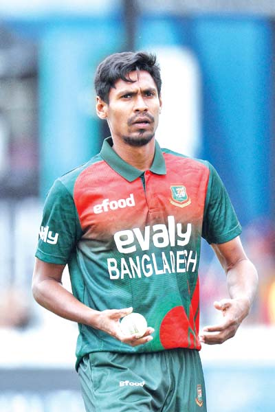 Mustafiz not in BCB's Test plan, given NOC for IPL