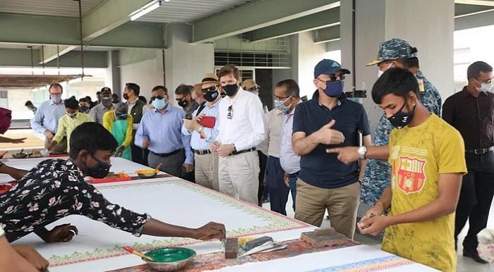 Foreign envoys visit Bhasan Char
