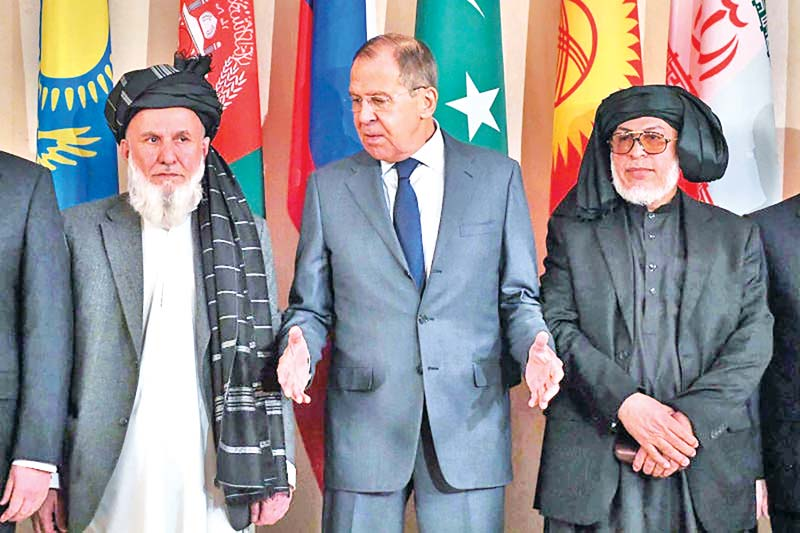 Why Russia wants to involve in Afghan peace process?