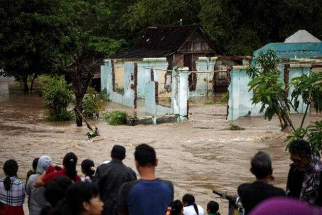 At least 20 people were killed and five others were missing as landslides and floods struck Indonesia's East Java province (file photo)