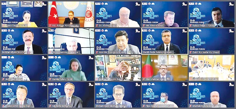 D-8 can raise their trade volume to $110b: Speakers