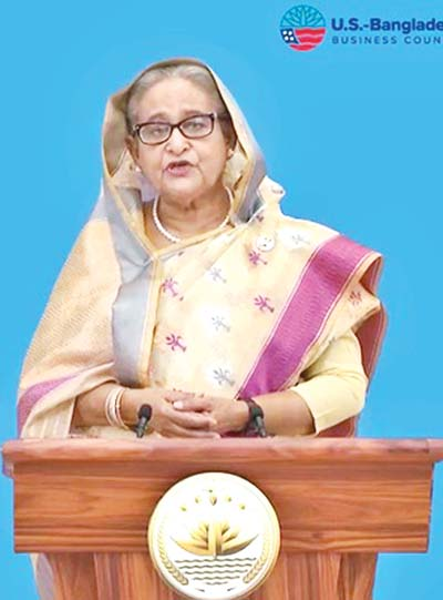 PM pitches for policy support to expand US-BD trade