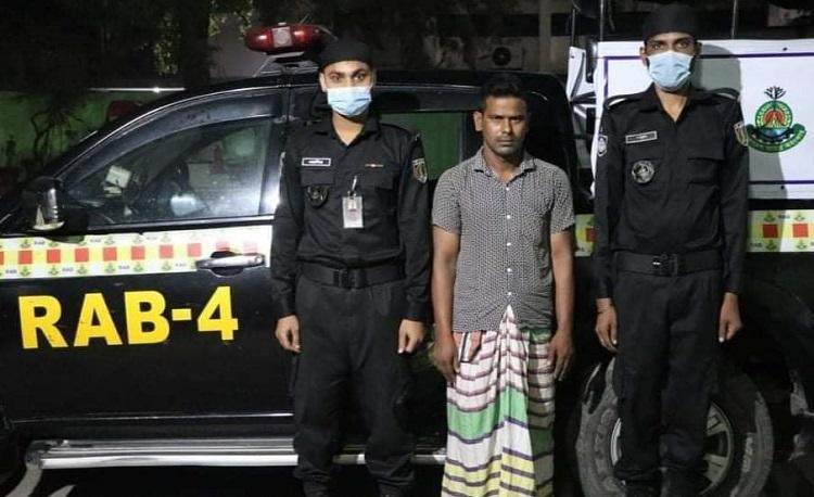 Drug peddler held with 27 kgs hemp in Ashulia