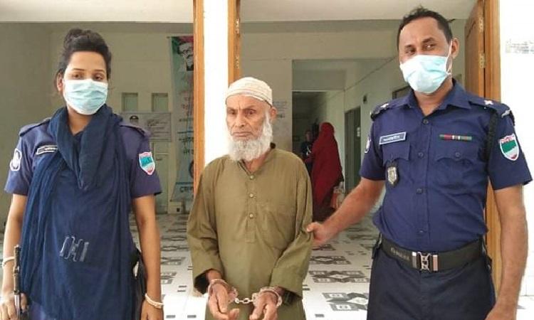 Elderly man held for 'raping' third-grader in Narail