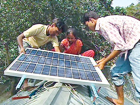 'BD solar home systems provide clean energy for 20m people'