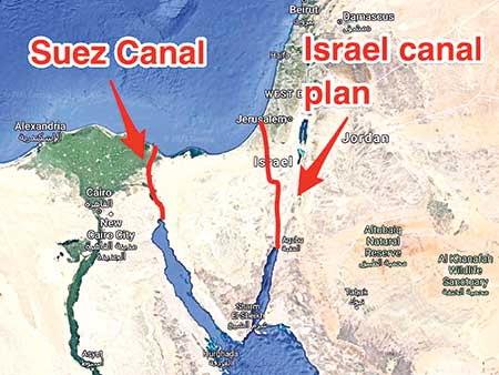 'Ever Given' incident and rumours on Suez Canal alternative