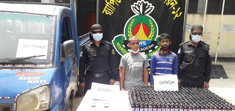 Two held with Phensedyl in Tangail