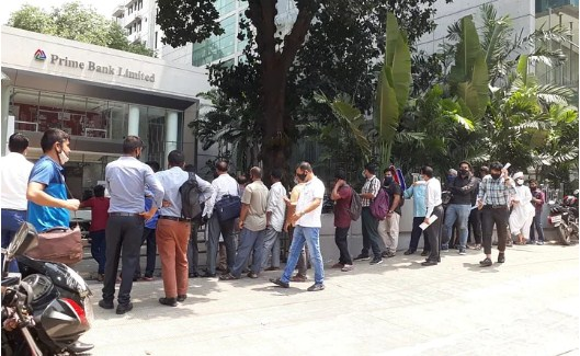 Decision to open banks during lockdown is awaited