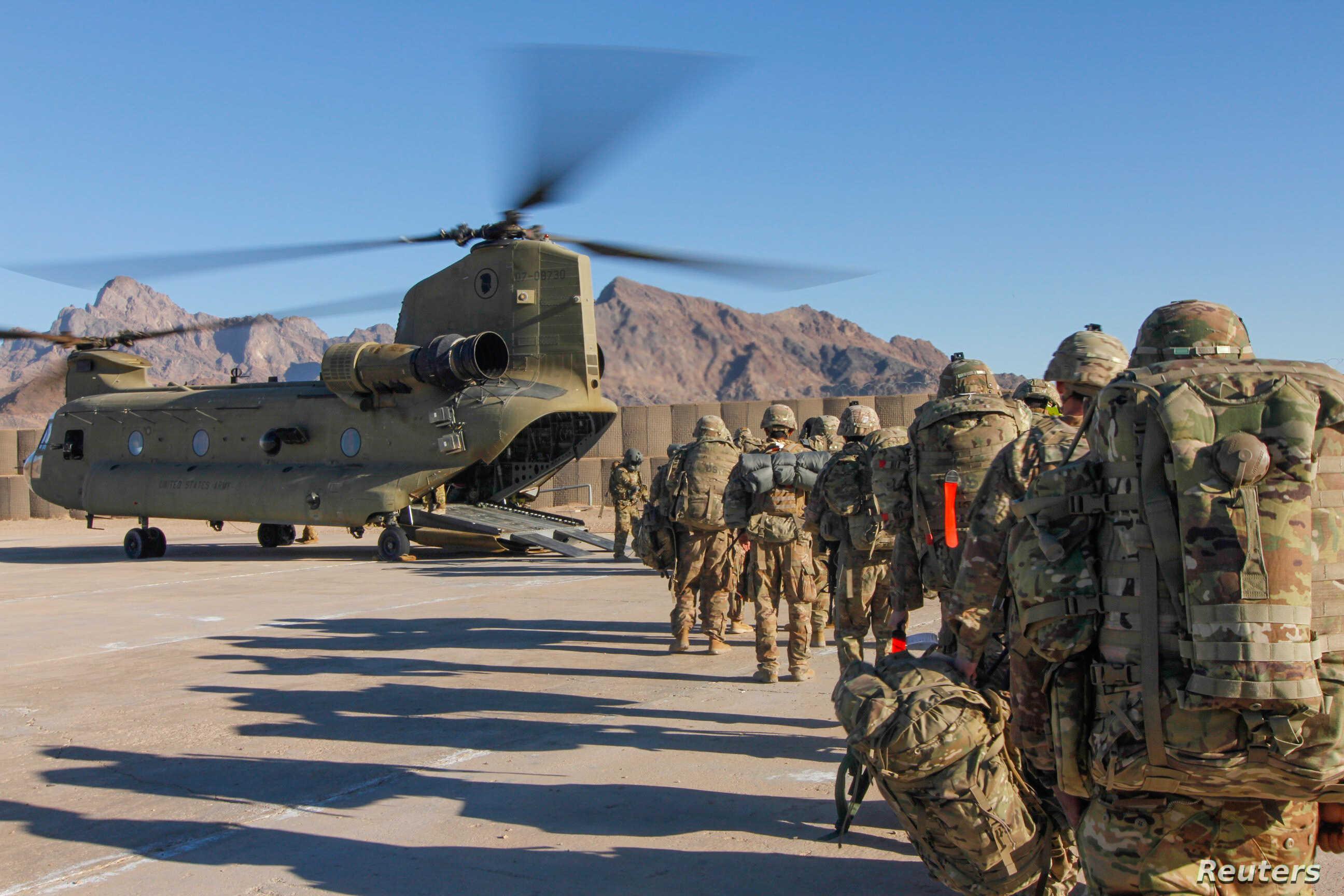 US to leave troops in Afghanistan beyond May