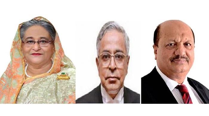 President, PM, CJ, law minister condole death of Matin Khasru