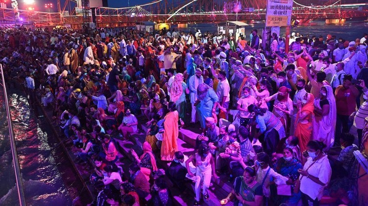 Millions have gathered for the Kumbh Mela festival despite a raging pandemic. Photo: Getty Images