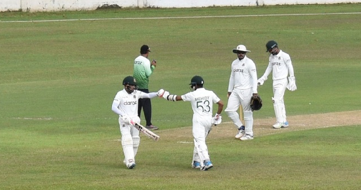 Batsmen shine in intra-squad practice game of Bangladesh