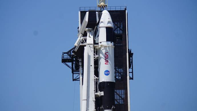 SpaceX launches third crewed mission to ISS