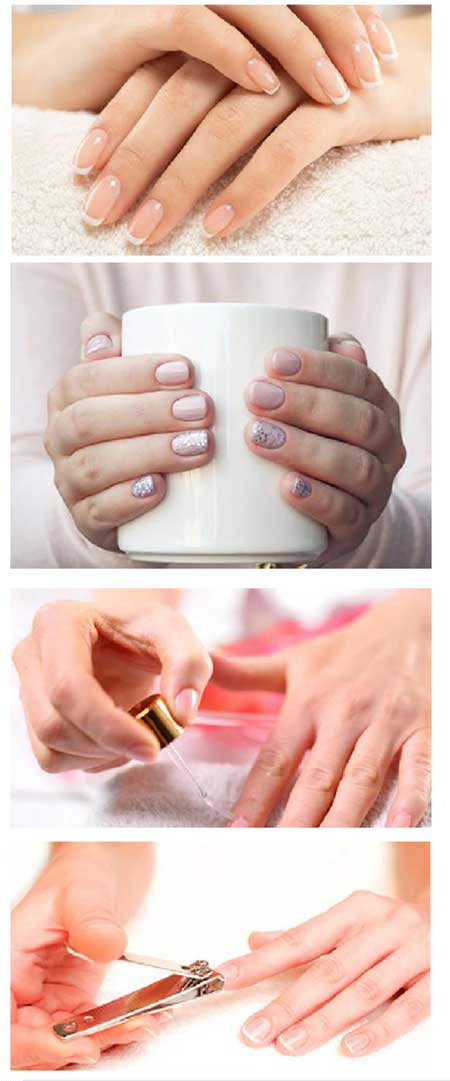 Take care of your nails at home