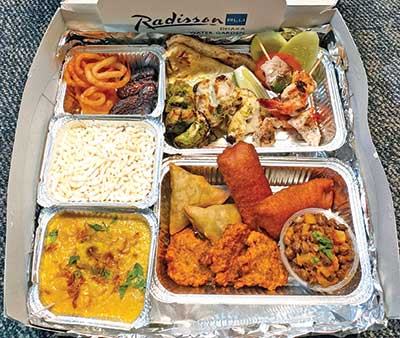 Radisson starts Iftar home deliveries