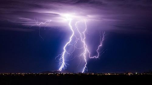 Lightning strikes kill two fishermen in Kishoreganj