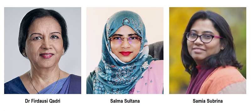 3 Bangladeshi women researchers named in Asian Scientist 100 list