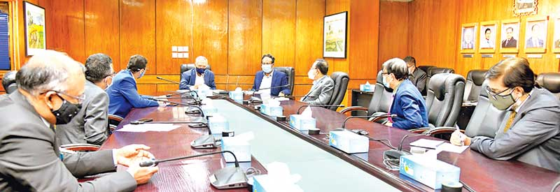 MBL holds meeting with divisional heads