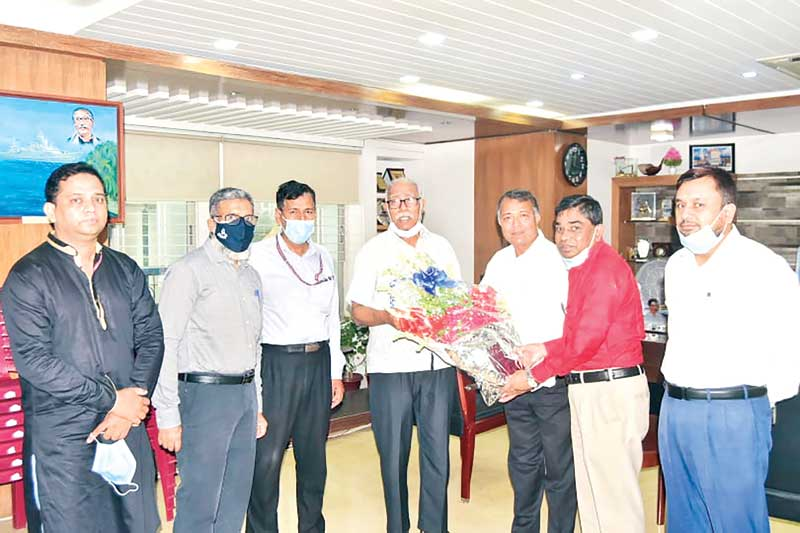 The newly joined MD of West Zone Power Distribution Company Ltd. Ratan Kumar Debnath