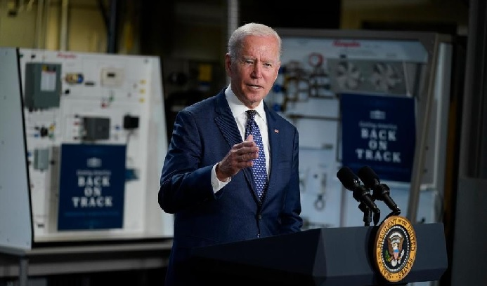 President Joe Biden announced Tuesday that the U.S. intends to send some of its coronavirus vaccine stockpile abroad. PHOTO: The Associated Press
