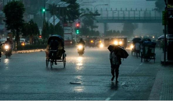Rain likely over country next three days