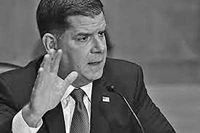 US Labor Secretary Marty Walsh