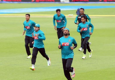 Tigers sans Shakib, Fizz start training for Sri Lanka ODIs Friday