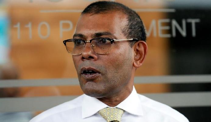 Mohamed Nasheed [FILE PHOTO]