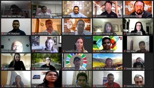 Webinar on urban resilience for professionals held