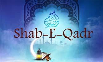 Holy Shab-e-Qadr on Sunday night