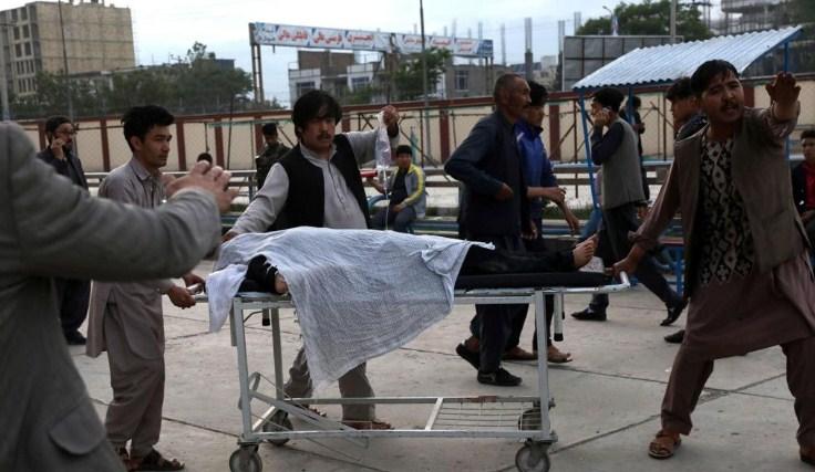 25 killed, 52 wounded in blast near Afghan school